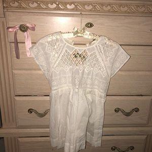 Zara Babydoll top